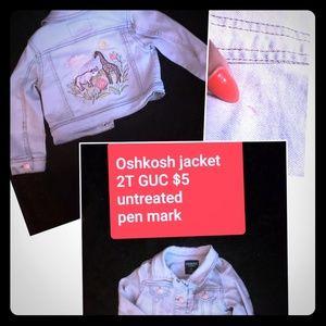 Toddler Girl's 18M-2T jacket lot